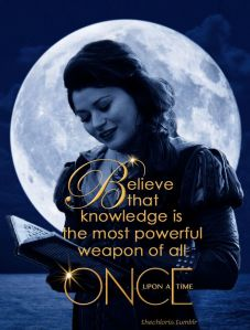 This is where we are, my friends...knowledge is power, the most powerful thing. Beauty loves Beast and that knowledge turns him back into a man. Charming finds Cinderella and it is his knowing, and loving her, despite her servant status that turns her into the princess again.
