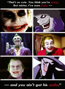 The Joker is a multi-dimensional, insane, murderous villain...who loves and who, in some twisted way, sees Batman as his best friend as well as biggest foe.